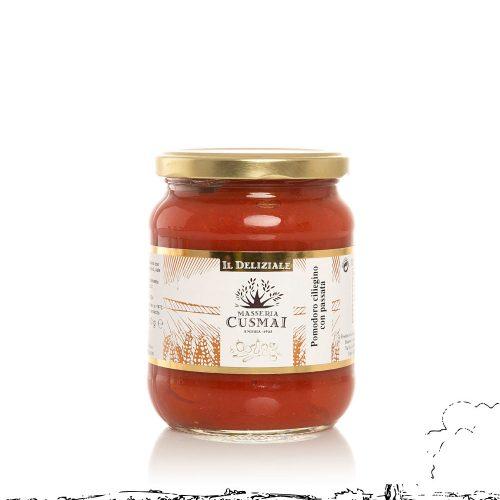 Ciliegino con passata di pomodoro