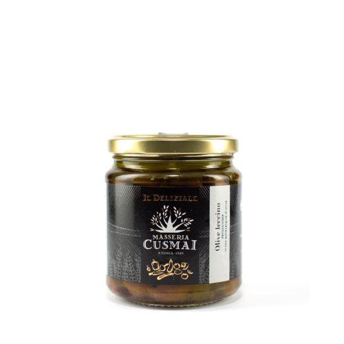 Olive leccino sott'olio